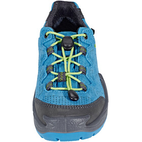 Lowa Diego GTX Low Shoes Junior blue/lime